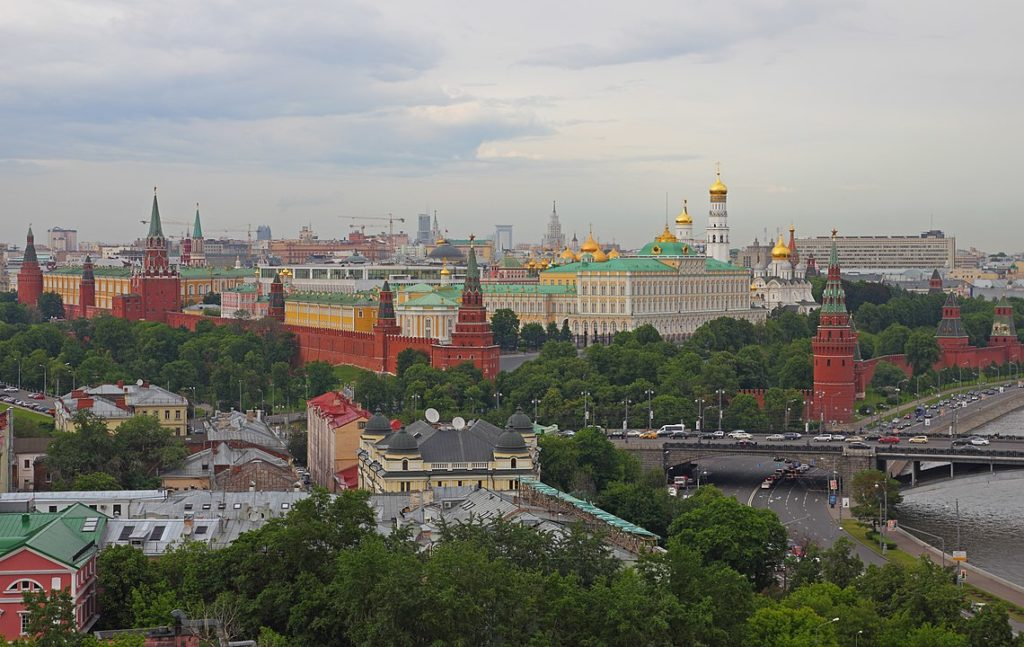 The Kremlin (interpreted as castle or citadel)