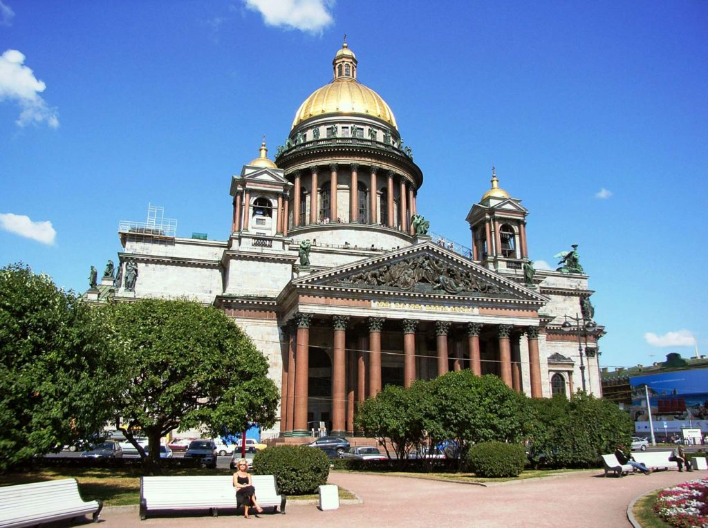 St Isaacs Cathedral Petersburg